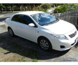 Photo White Toyota Corolla 2008 GLI 1800 cc Full option