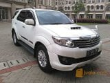 Foto Fortuner 2.5 g vnt trd 2013 at putih