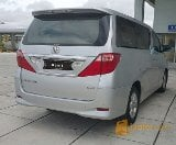Foto Toyota alphard g atpm 2.4 AT 2010 silver
