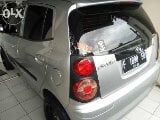 Foto Kia picanto 2009 manual silver over kredit sisa...