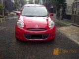 Foto Nissan March 1,2L 2013 Manual Warna Merah...