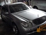 Foto Mercedes benz E 240 AT 2004 silver metalik