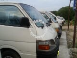 Photo Toyota Hiace Van Specialist- Local Model Non China