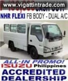 Photo Isuzu Truck Nhr Flexi Fb Body Dual A/c P199k-dp...
