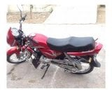 Photo Toyo Bike 110 cc Red Color Beautiful Bike New...