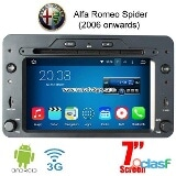 Photo Alfa romeo spider android car radio wifi 3g dvd...