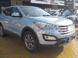 Photo Hyundai santafe 2015 blue - gcc specification