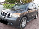 Photo Nissan armada 2008 le, gcc, sunroof, leather seats