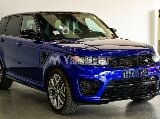 Photo Used Land Rover Range Rover Sport SVR 2015