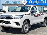 Photo Toyota Hilux 2.7Ltr V4 4X4 SINGLE Cab M/T 16″...