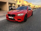 Photo Red bmw m5