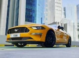 Photo Rent a 2018 Ford Mustang V8 GT in Dubai - AED...