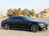 Photo Rent a 2021 Mercedes Benz S500 in Dubai - AED...