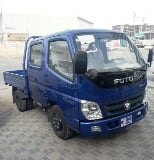 Photo Foton 2ton double cabin pick-up in uae