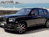 Photo Rent a 2021 Rolls Royce Cullinan Black Badge in...