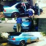 Foto BMW 323 e36 Manual th 96 estoril blue cakep...