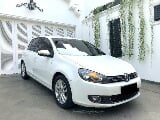 Foto VW Golf 1.4 TSI MK 6 2012 White on Black Sangat...