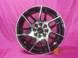 Foto Velg mobil bbs ring 15 pcd 4x100-114 black polish