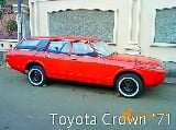 Foto Toyota Crown Special Deluxe Station Wagon 1971...