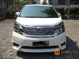 Foto Vellfire Z Audioless Tahun 2010 Putih AT