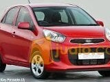 Foto KIA All New Picanto LX M/T Merah 2016