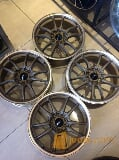 Foto Velg Mugen Ring 17 Brown Double Pcd 4x100,4x114