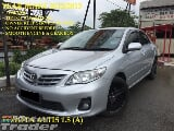 Photo 2012 toyota altis 1.8 (a) 1 owner facelift