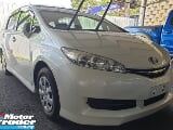 Photo 2014 toyota wish 1.8 x spec push start white...