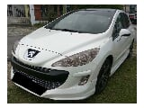 Photo 2012 peugeot 308 1.6 (a) used