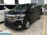 Photo 2016 TOYOTA VELLFIRE Unreg Toyota Vellfire 2.4...