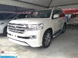 Photo 2016 toyota land cruiser 4.6 white with full spec