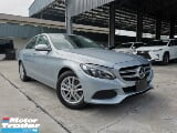 Photo 2015 mercedes-benz c-class c180 se silver blue...
