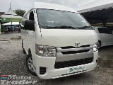 Photo 2015 toyota hiace 2.5 (m) diesel
