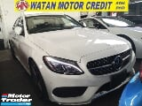 Photo 2015 mercedes-benz c-class c200 amg in line inc...