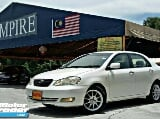 Photo 2006 toyota altis 1.8 (a) g specs! Vvt-i new...