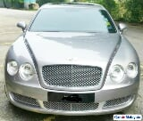 Photo Bentley Continental Flying Spur 6. 0L Sambung...