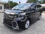 Photo Toyota vellfire 2.5 za (a) Sunroof Unreg