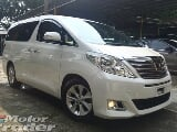Photo 2013 toyota alphard 3.5 gl full spec coolbox....