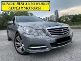 Photo Mercedes Benz E250 1.8 cgi 7 speed p/boot s/roof