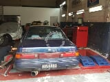Photo Nissan A31 Cefiro RB26 Engine (M)