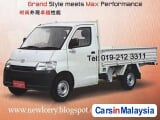 Photo Daihatsu Gran Max Manual 2015