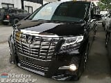 Photo 2015 toyota alphard 2.5 s spec 7 seat 2 pd...