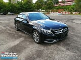 Photo 2015 mercedes-benz c-class c180 avantgarde...