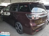 Photo 2015 toyota wish 1.8 s sunroof maroon colour...