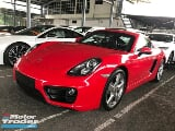 Photo 2016 porsche cayman 2.7 pdk no sst facelift pcm...