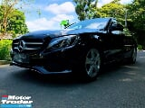 Photo 2016 mercedes-benz c-class c180 1.6at turbo ckd