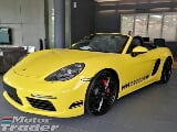 Photo 2016 porsche boxster s 718 2.5 VTG Turbo Mega...