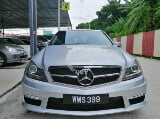 Photo 2013 Mercedes Benz C200 CGI-W204*ALL BLACK