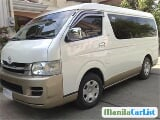 Photo Toyota Hiace Manual