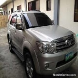 Photo Toyota Fortuner Manual 2007
